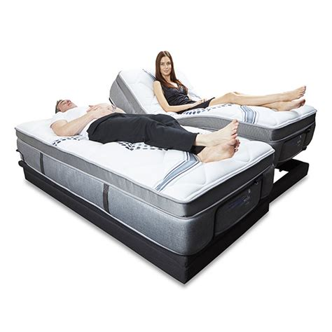 reverie adjustable bed ebc220 electric adjustable bed base from reverie
