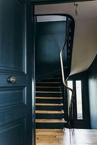 nuances de bleu style industriel frenchy fancy With lovely peindre un couloir en 2 couleurs 7 quelle couleur pour les portes dans un couloir au mur