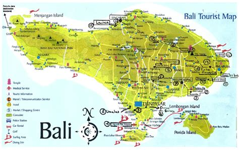 bali tourist attractions  tourist destinations