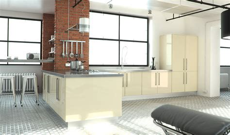 High Gloss Kitchens Dublin, Fitted Kitchens, Bespoke