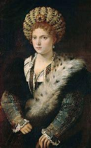 Renaissance Isabella d'Este Portrait
