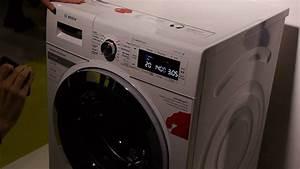 Machine À Sécher Le Linge : le lave linge s rie 8 de bosch d monstration youtube ~ Melissatoandfro.com Idées de Décoration