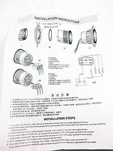 Kus Stainless Steel Rudder Angle Indicator Gauge  U0026 Sensor