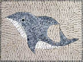 Majestic Carpets by Mosaics Animal Designs Dolphin An153
