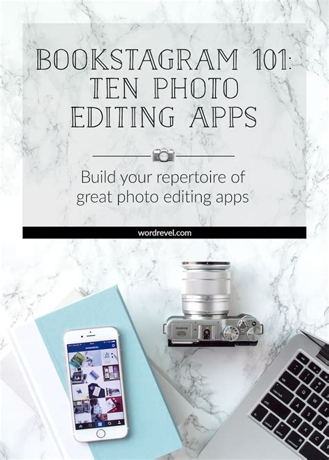 bookstagram  ten photo editing apps bookstagram