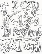 Coloring Doodle Pages Quote Alley Quotes Sheets Adult Anniversary Happy Printable Colouring Mom Dad Books Wallpapers sketch template