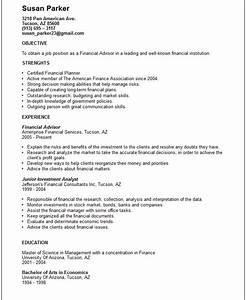 finance resume examples With finance resume examples