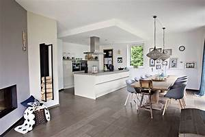 Offene Küche Und Wohnzimmer : offene k che kitchen pinterest offene k che k che und wohnen ~ Markanthonyermac.com Haus und Dekorationen
