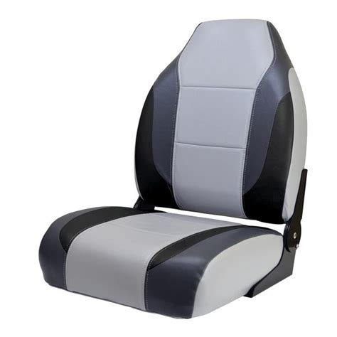 Wise Boat Seats Catalog by Wise Marine Seating Bass Boat Seat Gray Charcoal Black