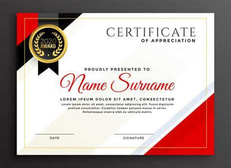 elegante diseno de plantilla de certificado de diploma