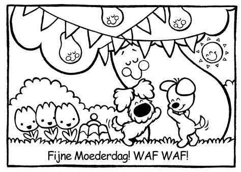 Moederdag Kleurplaat by Kleurplaat Hart Valentijn Moederdag Vaderdag