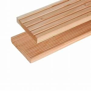 Lame De Bois Pour Terrasse : lame terrasse meleze siberie 21x145x4 m 200mlt211454 la ~ Premium-room.com Idées de Décoration