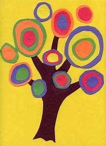 Kandinsky Trees - Paperblog