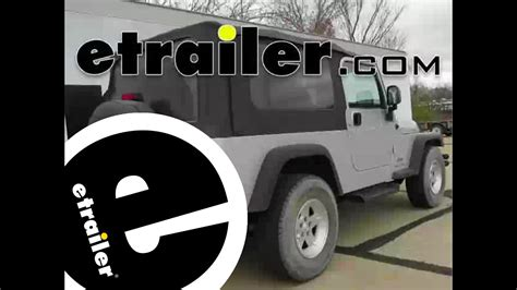 Trailer Wiring Harness Installation Jeep Wrangler