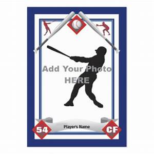 how to make a baseball card template ehow party With baseball card template microsoft word