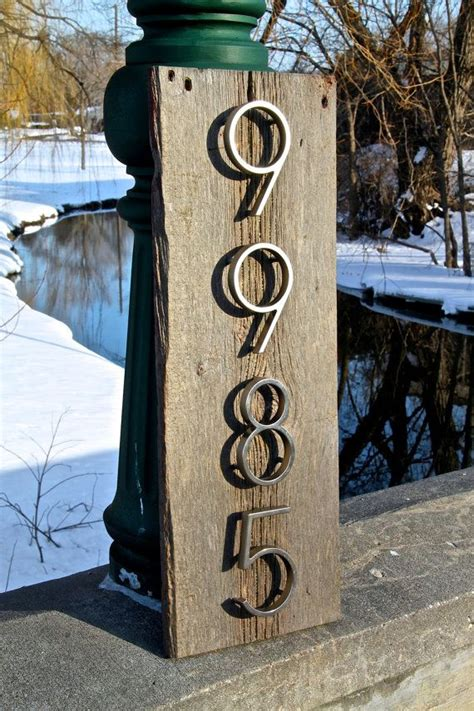 house number sign for l post pin by rena leblanc on for the home pinterest