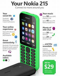 Microsoft Devices Launches Nokia 215 With A Bargain Price