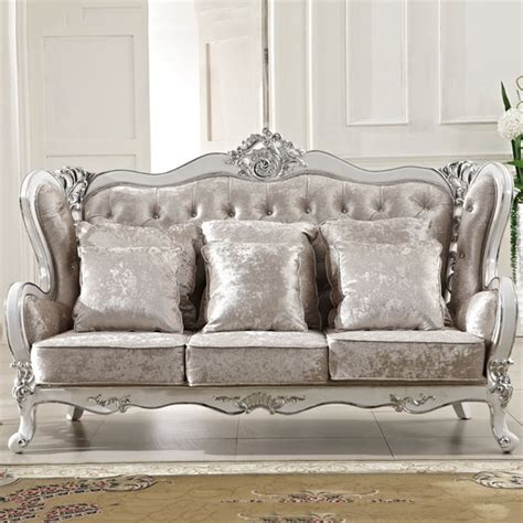 wholesale europe classic style sofa furniture oak wood