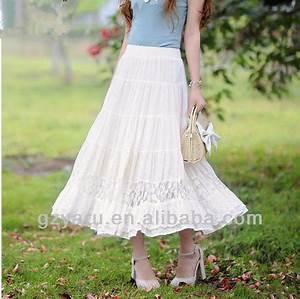 White Maxi Traditional Girls Designer Long Skirts - Buy Long SkirtsTraditional Long SkirtGirls ...