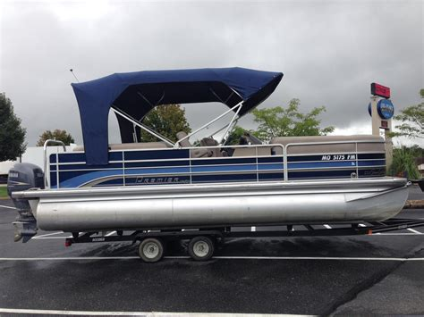Used Pontoon Boats Premier by Used Pontoon Premier Boats For Sale 3 Boats