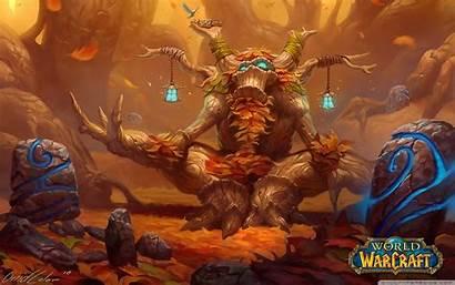 Wow Druid Wallpapers Warcraft 4k Background Lore