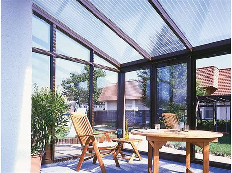 plaques transparentes pour veranda plaque alv 233 olaire et paroi polycarbonate