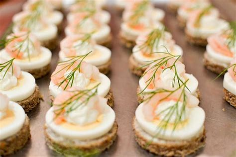 canapes dictionary great chefs â get creative with canapés