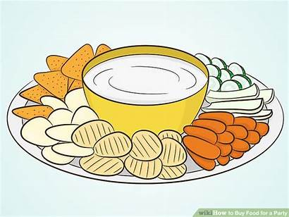 Party Clip Appetizers Meal Wikihow Clipground