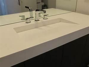 vasque salle de bain corian carrelage salle de bain With vasque salle de bain corian