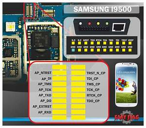 Samsung Galaxy S4 I9500 Jtag Pinout Diagram