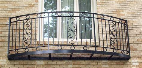 home interior railings curved balcony rails