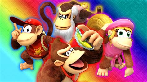 donkey kong country tropical freeze hd wallpaper background image  id