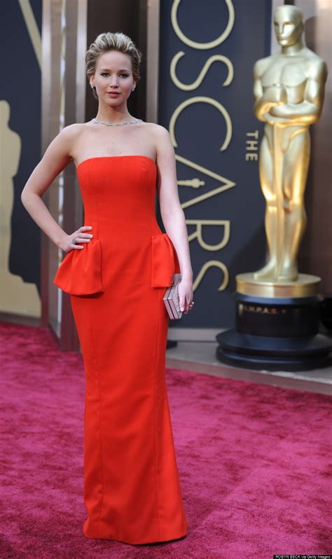 Jennifer Lawrence Oscars 2014 Dior Dress Has Our Meh