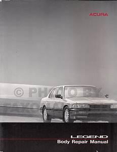 1989 Acura Legend 4 Door Electrical Troubleshooting Manual
