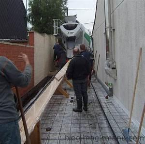Temps De Sechage Dalle Beton : garage coulage de la dalle b ton ~ Premium-room.com Idées de Décoration
