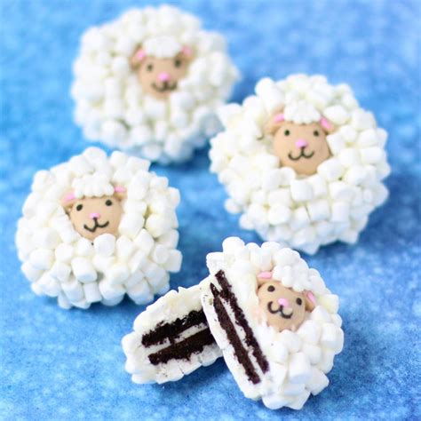 Decorated Easter Cookies Pictures oreo sheep kitchen fun with my 3 sons
