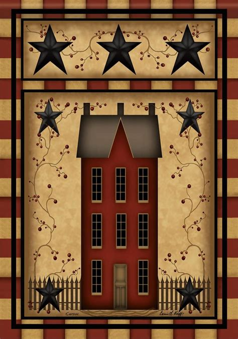 Primitive Stars Star House Double Sided