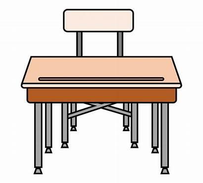Desk Clipart Table Computer Pencil Library