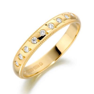 18ct yellow gold band wedding rings waltons of chester diamond jewellery and engagement rings