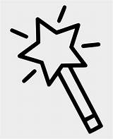 Wand Coloring Magic Jing Fm Clipart sketch template