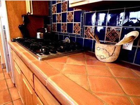 mexican tile kitchen saltillo tile countertop decorative tile design 4115