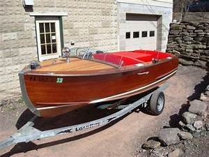 Century Chris Craft Wooden Boat Classic For Sale In Harveys Lake  Pennsylvania Classified