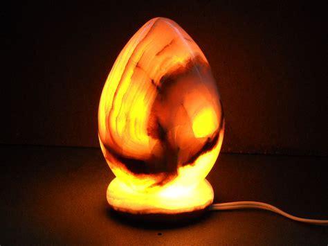 Egg Onyx Lamps