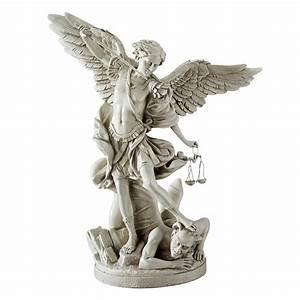 Design Toscano EU1850 St. Michael the Archangel Statue ...