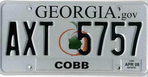 vanity plates ga banned vanity license plates