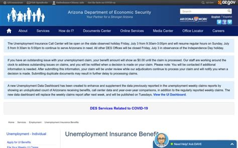 Looking up complaints against an insurance company before you apply for a policy can tell you a lot, and it might even affect your decision. Unemployment Insurance Benefits   Arizona Department Of Economic Security - azui .com - reviews ...