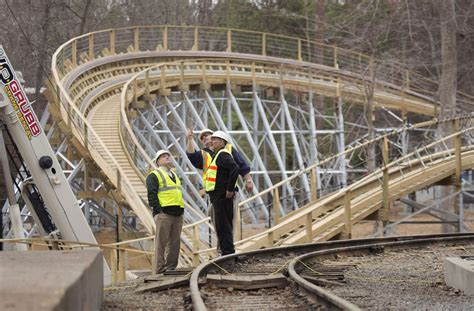 busch gardens new roller coaster busch gardens wooden coaster hits the sweet spot