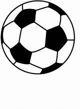 Soccer Ball Football Printable Coloring Drawing Cartoon Drawings Cartoons Clip sketch template