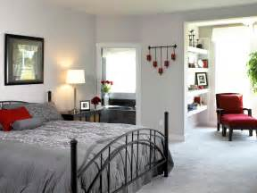 home interior design bedroom modern bedroom design with white wall interior color decor gray carpet tiles and black iron