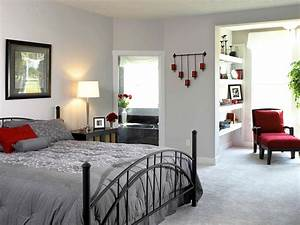 modern bedroom design with white wall interior color decor With interior design of bedroom furniture